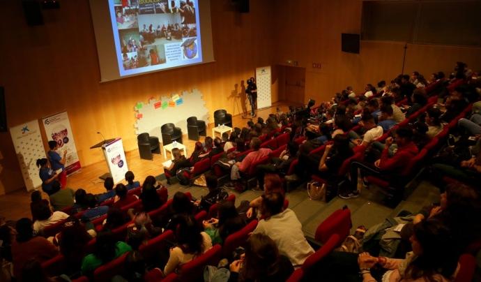 Les taules rodones van omplir l'auditori del CosmoCaixa els dies 3 i 4 de maig Font: Fundesplai