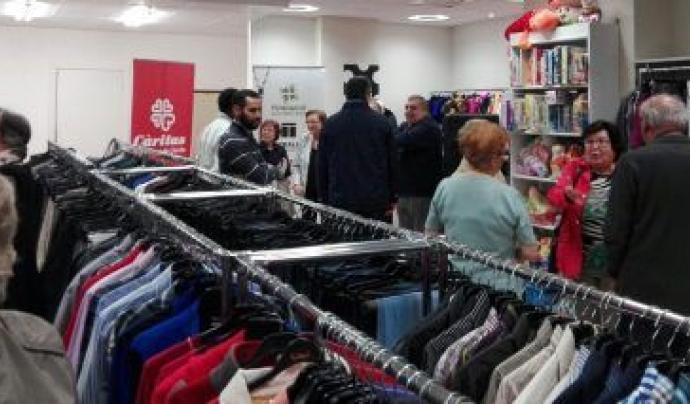 Càritas té gairebé cent botigues de ModaRe- distribuïdes per tot l'Estat i compta amb més de sis mil contenidors. Font: Càritas