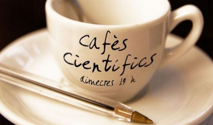 La Fundació Ciència en Societat organitza cafès científics mensuals. Font: Fundació Ciència en Societat