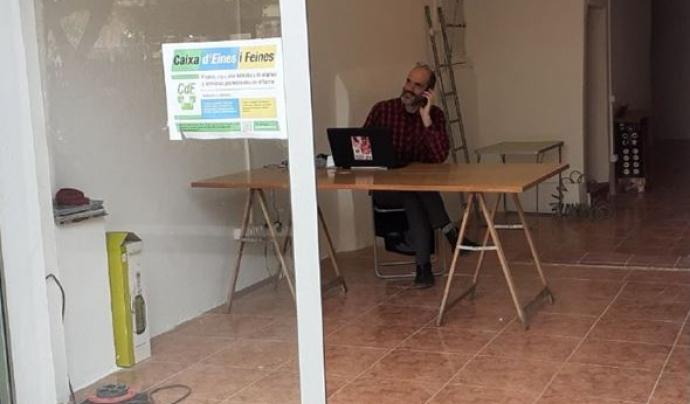 Caixa d'Eines i Feines obrirà en un local de Ciutat Vella, a Barcelona. Font: Caixa d'Eines i Feines