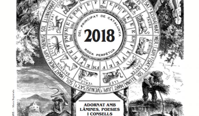 El Calendari dels Pagesos 2018 Font: El Calendari dels Pagesos
