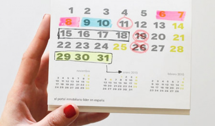 Imatge calendari. Font: web economis.es