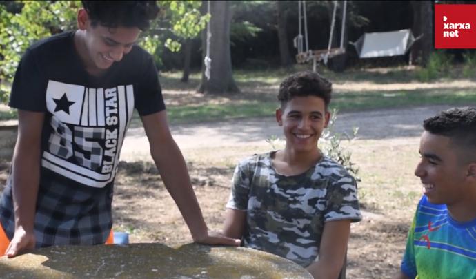 Un total de 20 joves, sobretot d'origen magrebí, viuen al centre Som Refugi Cal Manco. Font: Suport Tercer Sector. Font: Suport Tercer Sector