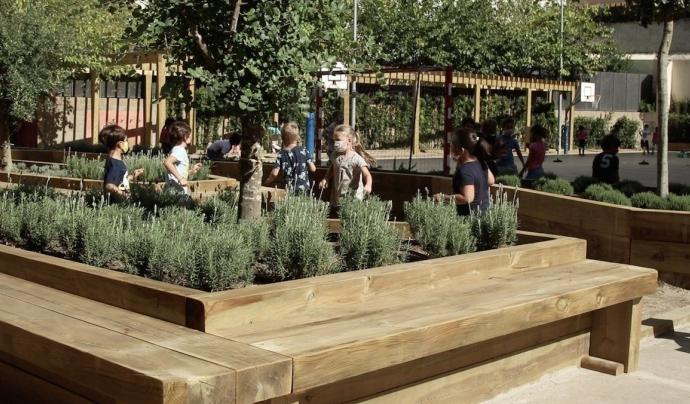 l'Ajuntament de Barcelona ha creat una xarxa d'espais de refugi climàtic. Font: Ajuntament de Barcelona