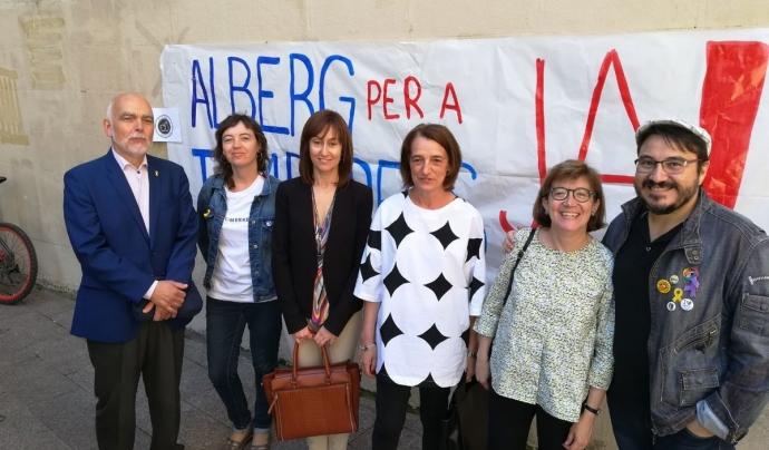 La Comissió de Drets Humans i Estrangeria del Col·legi de l'Advocacia de Lleida també dona suport a aquesta iniciativa.