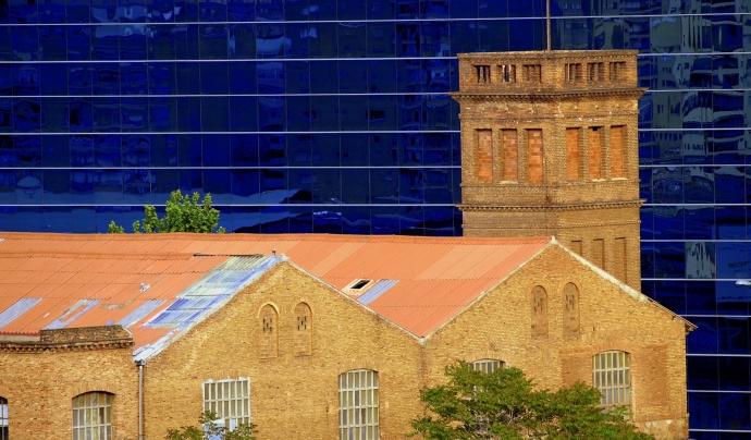 Antigament era un recinte industrial de nou hectàrees de superfície ubicat al barri de La Bordeta. Font: Can Batlló. Font: Font: Can Batlló.