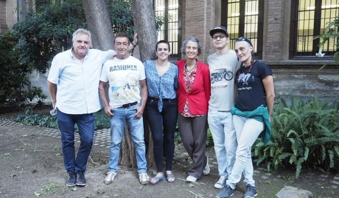 Membres de la Unió de Pacients per la Regulació del Cànnabis Font: César Marcos