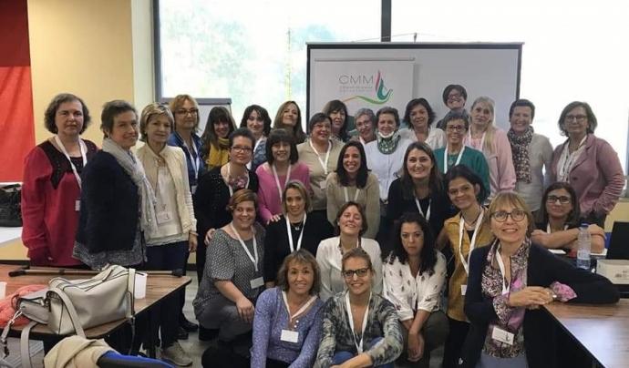 La presidenta de l'associació considera fonamental el paper del grup per afrontar-ho amb optimisme. Font: Pilar Fernandez. Font: Font: Pilar Fernandez.