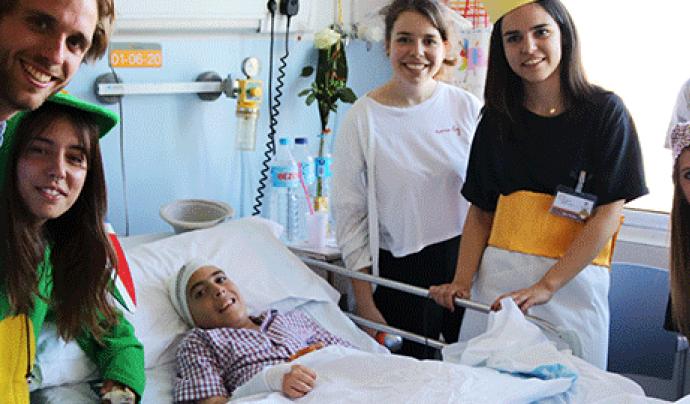 El programa sociosanitari de la FAS col·labora amb l'Hospital Vall d'Hebron de Barcelona. Font: FAS
