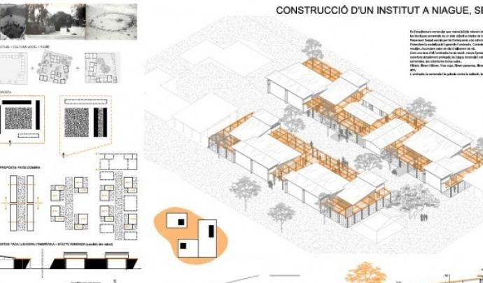 El projecte serà completament sostenible, seguint les bases de la bioconstrucció. Font: Base-A