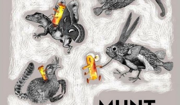 Cartell del VIII Festival de Narració Oral de Barcelona Font: Munt de Mots