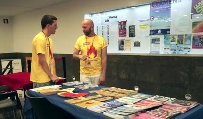 Voluntaris de la mostra FIRE!