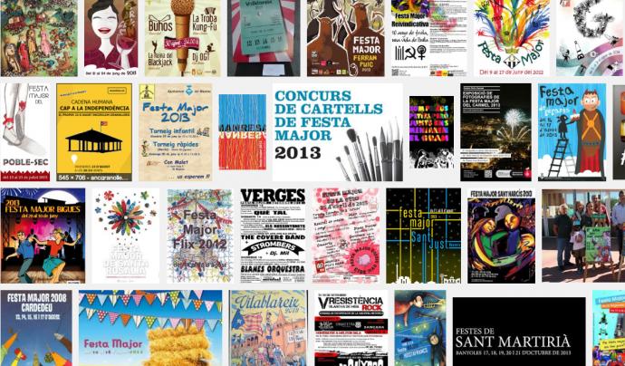 Cartells de festes majors a Catalunya