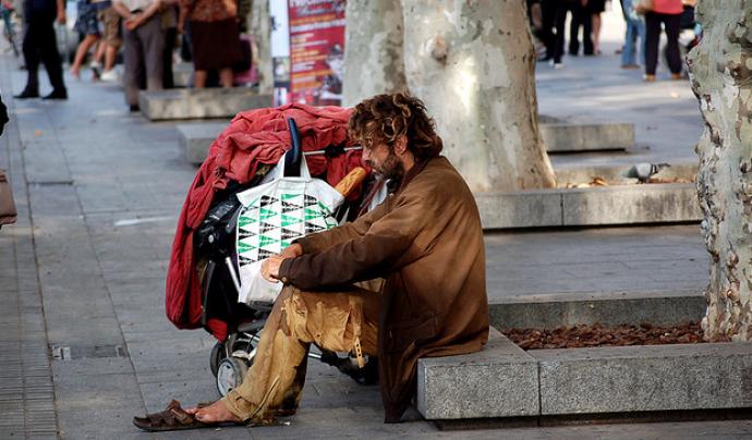 S'estima que 5.433 no tenen un sostre on viure (Font:Melvin Gaal, flickr.com)