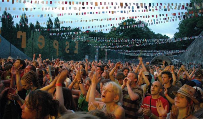 Imatge del Festival Esperanzah!  Font: Xarxanet