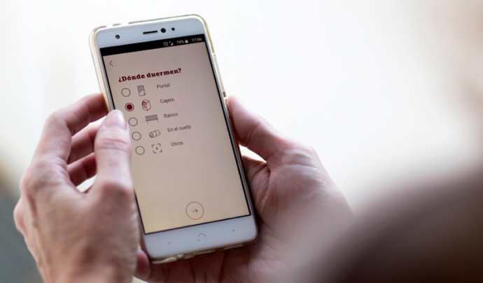 'Arrels Localitzador', l'app per ajudar a les persones sense llar.