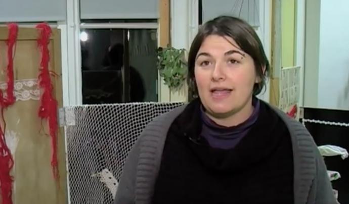 Sílvia Aldavert, guanyadora del Premi ASPÀSIA 2018.