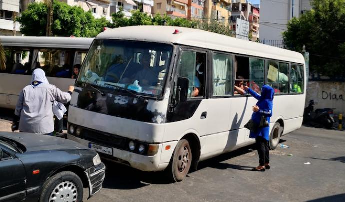 La 'Caravana Musical per la Pau' porta instruments al Líban per a la infància dels camps de refugiats. Font: ATAP Calders