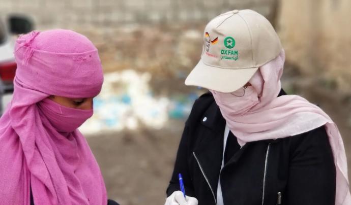 Oxfam Intermón afirma que en països empobrits la prevenció és vital per frenar la Covid-19. Font: Oxfam Intermón
