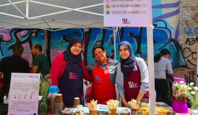 Food Relations treballa la cohesió intercultural a través del codisseny d'un producte culinari. Font: ABD.