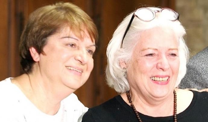Raquel Salas i Ana María Díquez, presidenta i coordinadora d'operacions de Catnova. Font: Catnova