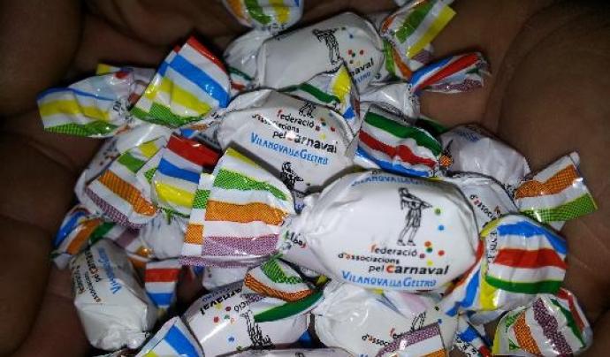 Caramel oficial del Carnaval de Vilanova i la Geltrú.