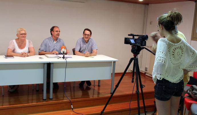 La iniciativa ha estat presentada davant els mitjans de comunicació Font: Càritas