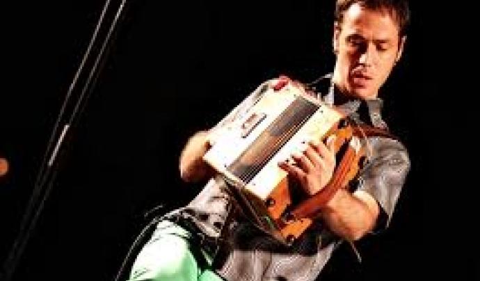 Carles Belda, acordionista diatònic.