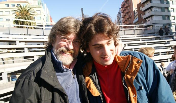 Carles Fauró i el seu fill