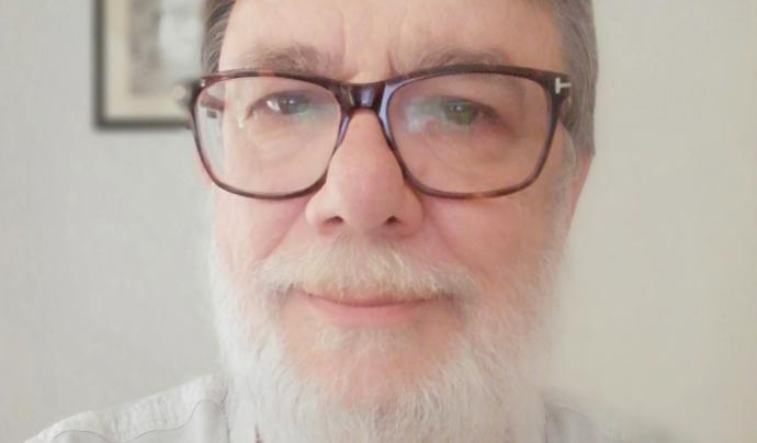 Carles Masjuan, president de l'Agrupament d'Esbarts Dansaires. Font: Carles Masjuan