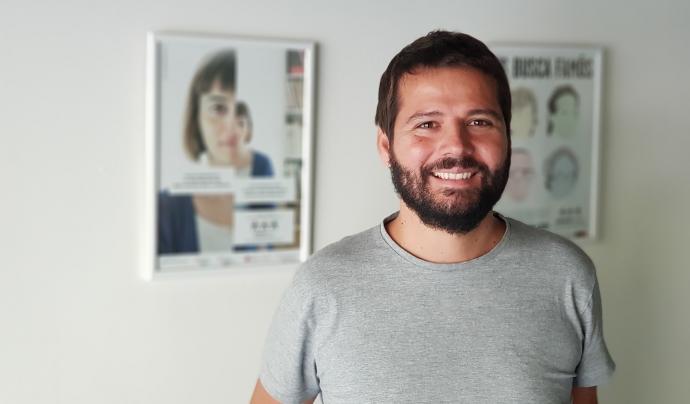 Carlos Alcoba, cap de comunicació i captació de fons d'Obertament. Font: cedida