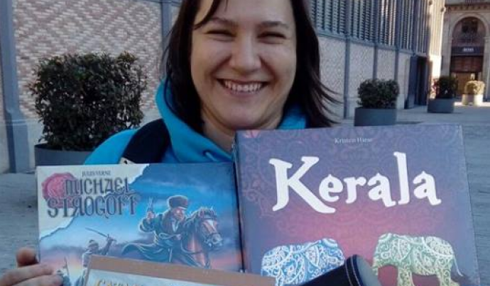 Parlem amb Carolina García, membre del Club Amatent i que ha participat a campionats internacionals de jocs de taula