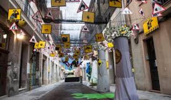 Decorats del carrer Perill l'any 2015