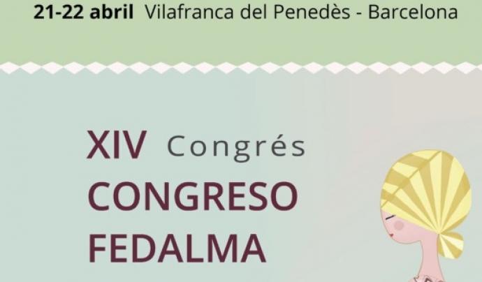 Cartell del Congrés Fedalma 2017 sobre lactància materna Font: Marta Rabasa López de Navarcles - Fedalma