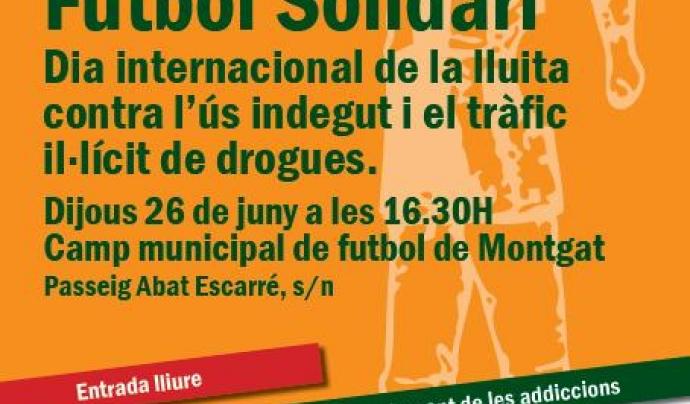Projecte Home organitza el 26 de juny un torneig de futbol solidari a Montgat