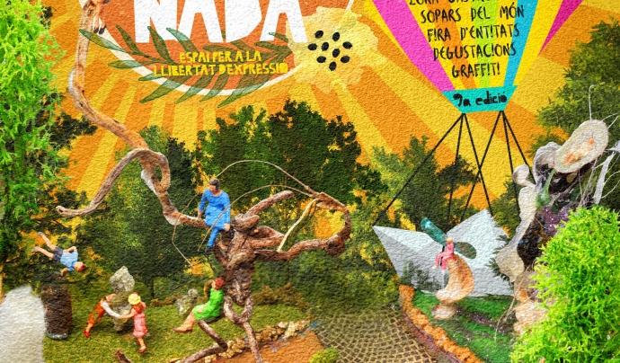 """Cartell de la 9a edició de """"La iMAGInada - Espai per a la llibertat d'expressió"""" Font: La iMAGInada"""