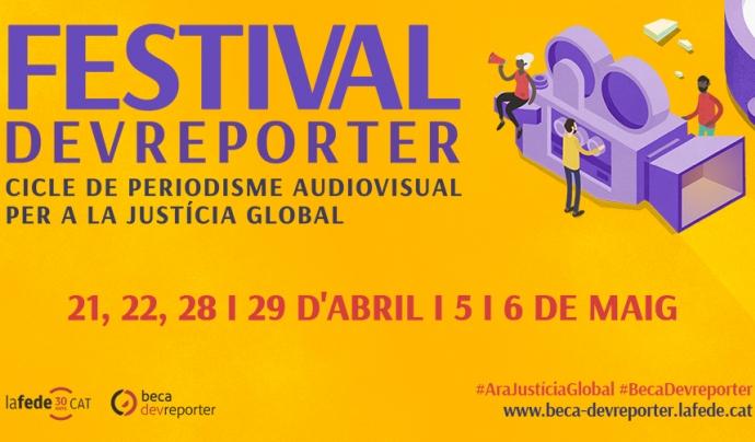 Cartell del Festival Devreporter Font: Lafede.cat