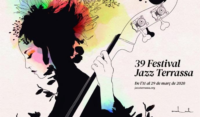 Cartell del 39 Festival de Jazz de Terrassa. Font: Festival de Jazz de Terrassa