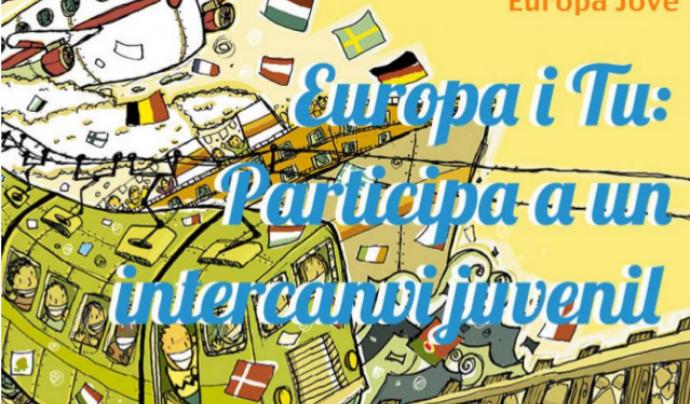 Imatge del cartell de la iniciativa Font: Barcelonès Jove