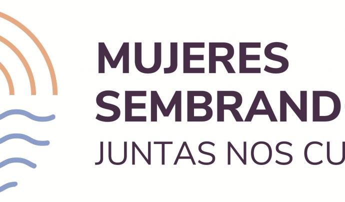 Cartell de la campanya #MujeresSembrandoPaz Font: Plataforma Unitària contra les Violències de Gènere