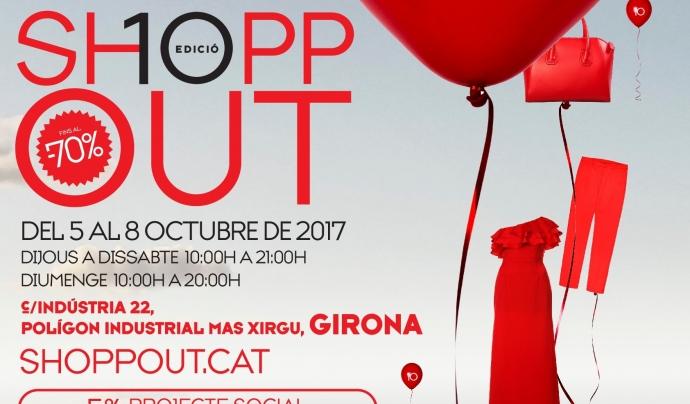 Cartell de la 10a edició del ShoppOut Font: Fundació Ramon Noguera