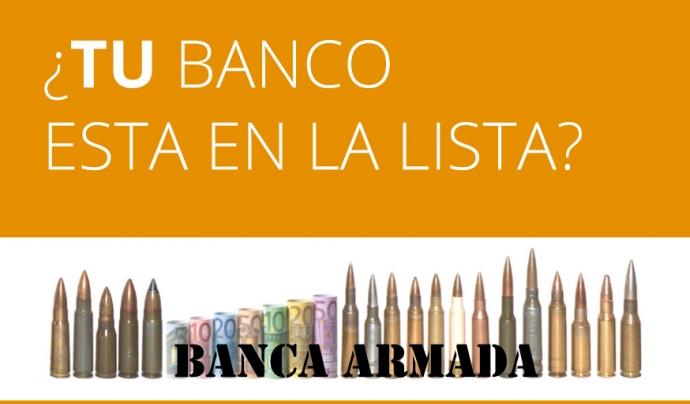 La campanya en contra de la banca armada va començar el 2007. Font: AecosExtremadura