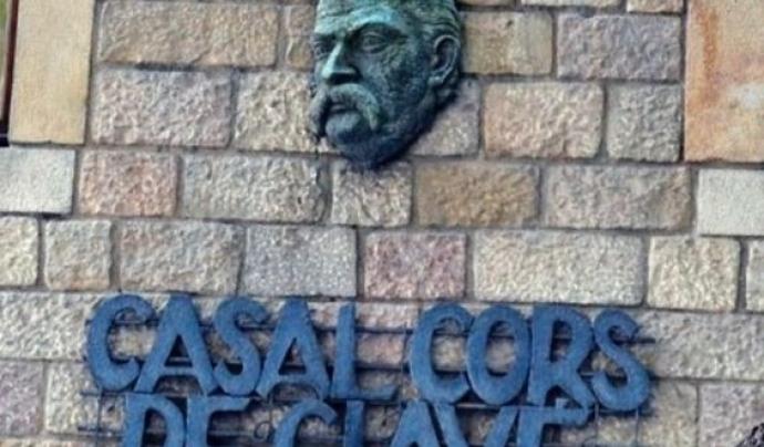 Casal dels Cors de Clavé al barri de Poblenou, Barcelona Font: Direcció General de Cultura Popular i Associacionisme Cultural