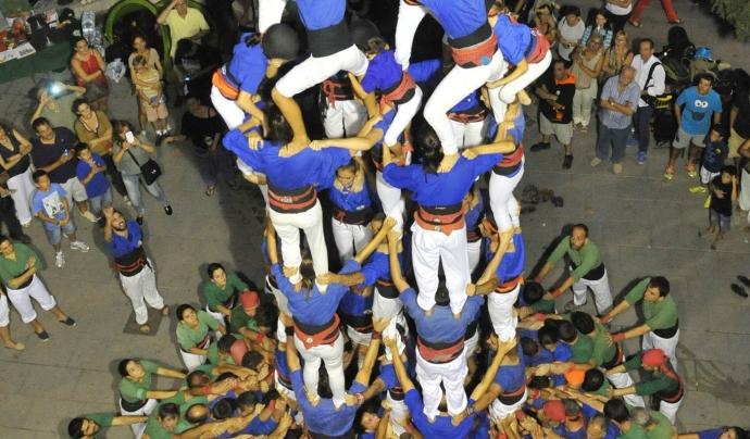 Castell. Font: Castellers d'Esplugues (Flickr)