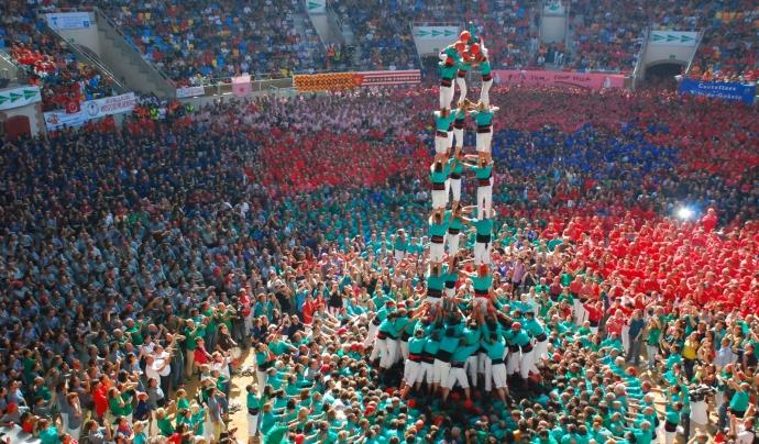 """Resultat d'imatges per a """"castellers de vilafranca"""""""