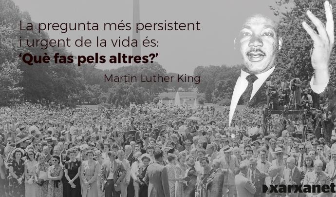 Martin Luther King Font: Laia Núñez