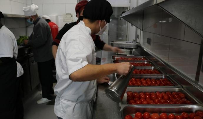 La Fundació Formació i Treball va reforçar l'any passat el servei d'entrega d'aliments. Font: Fundació Formació i Treball