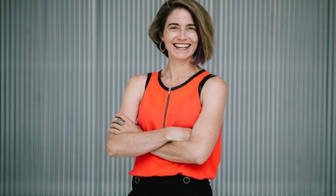 Catherine D'Ignazio, directora del Laboratori Dades + Feminisme Font: Diana Levine