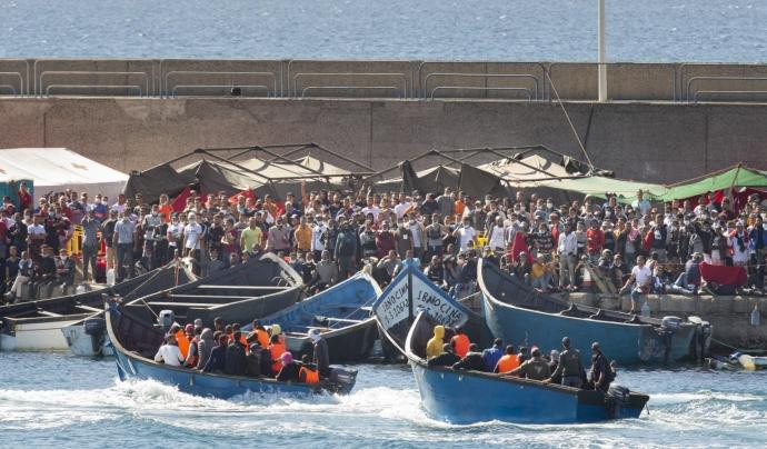 El nombre de refugiats al món segueix en augment. Font: CEAR