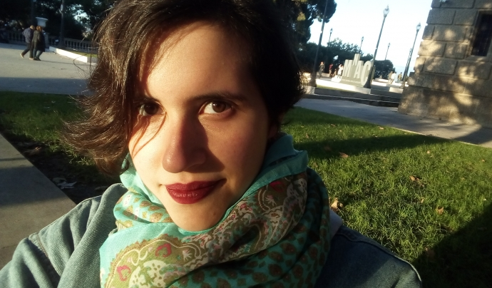 Cecília Viu va rebre el suport d'un voluntariat corporatiu.  Font: C. V.